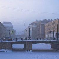 Бодрящий утренний морозец. :: Senior Веселков Петр