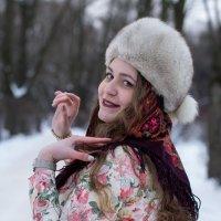 """Зимний женский образ """"Масленица"""" :: Егор Арнаутов"""