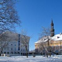 Ратуша и нарвский колледж Тартуского университета :: veera (veerra)