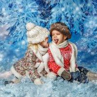 Новогодняя открытка :: Ирина Жулина