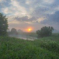 Ранним утром у оз.Блюдце :: Igor Andreev