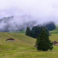 Швейцария.Альпы.Туман. :: Борис