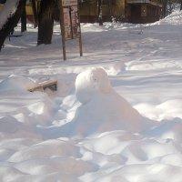 Cнежный человечек :: Елена Семигина