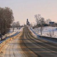 Благовещенская Церковь в с .Клин Бельдин :: ninell nikitina