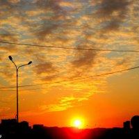 Городской закат :: Нина Бутко