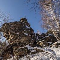 Скала Церковка на одноименной горе :: Виктор Четошников