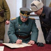 Допрос Паулюса в Сталинграде :: Андрей Бондаренко