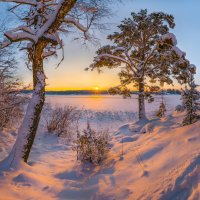 Зимняя картина :: Фёдор. Лашков