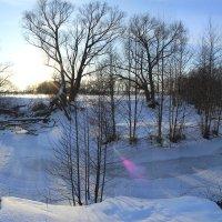 Зимний пейзаж. :: Svetlana Sneg