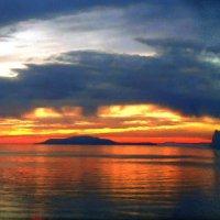 акварель заката :: viton