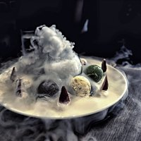 Молекулярное мороженое :: Лилия .