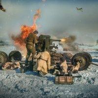 Батарея Огонь! :: Виктор Седов