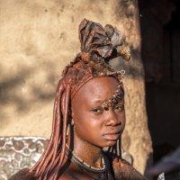 причёска женщины из племени Имбас :: Георгий