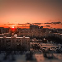 закат над городом :: Pasha Zhidkov