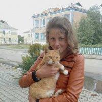 Катя з котом :: Танюша