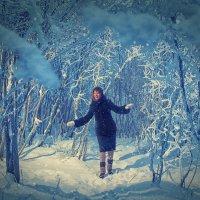 Зимняя прогулка :: Роман Маркин
