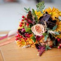Осенний свадебный букет :: Ольга Мешечкова