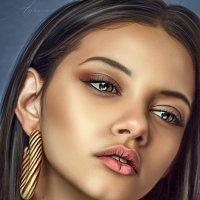 Портрет Марины Нери :: Дина Агеева