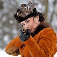 на зимней охоте... :: Андрей Вестмит