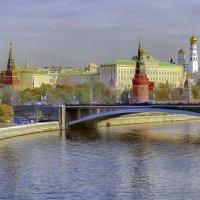 Москва. Вид от Патриаршего моста. :: В и т а л и й .... Л а б з о'в