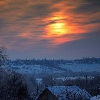 Утро морозное...март месяц... :: Сергей Величко