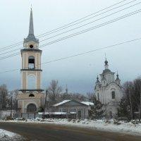 Свято-Никольский храм. Село Крапивна. :: Сергей Уткин