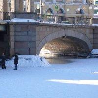 СПб. Под мостом Лои\\моносова :: Таэлюр
