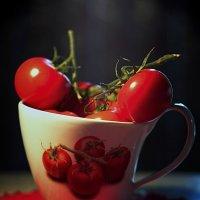Вкусняшки в чашке. :: Марина Леонидовна