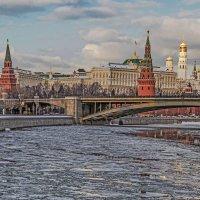 По реке прошёл ледокол. :: Viacheslav Birukov