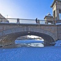 Мосты повисли надо... льдами. :: Senior Веселков Петр