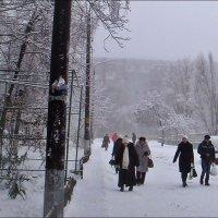 Зимним днём :: Нина Корешкова