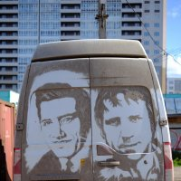 Картина на пыльной машине :: Сергей Ткаченко