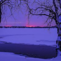 морозный восход солнца :: Георгий А