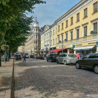 Улица Хельсинки. Финляндия. :: Олег Кузовлев