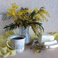 Чай с любимым сыром :: Татьяна Смоляниченко