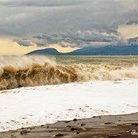 Зииний шторм... Курорт Канака... :: Сергей Леонтьев