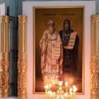 Святые Мефодий и Кирилл :: Валерий Ткаченко