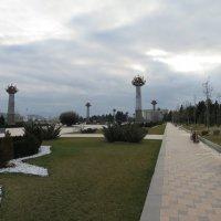 Современный парк имени Гейдара Алиева находится в Гяндже. :: Ирина Бархатова