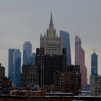 Москва.... Здание МИД... :: Наталья Меркулова