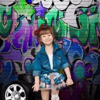 Крутая девочка! :: Оксана Романова