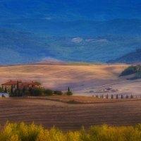 осенние пейзажи Тосканы :: михаил