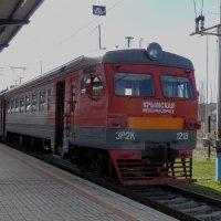 Электропоезд ЭР2К-1218 :: Александр Рыжов