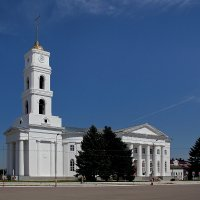 Лютеранская церковь Святой Троицы. Город Маркс. Саратовская область :: MILAV V