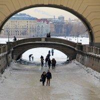 Зимняя канавка :: skijumper Иванов