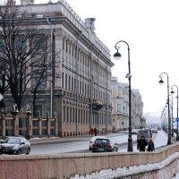 Мраморный дворец на Дворцовой набережной :: Ирина Румянцева