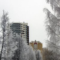 Зимний  Киров :: gribushko грибушко Николай