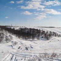 На заснеженных холмах уральских.. :: Андрей Заломленков