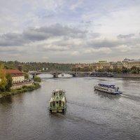 На кораблике прокатимся + шведский стол + пиво! :: Андрей Дурапов