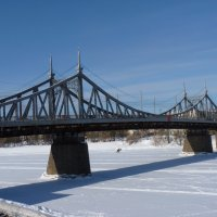 "Тверь. "" Старый мост "" (Староволжский мост) :: Galina Leskova"