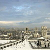 Зимнее утро в городе :: Григорий Карамянц